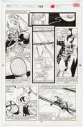 Original Comic Art:Story Page, Sal Buscema The Spectacular Spider-Man #193 Story Page 20 Original Art (Marvel, 1992)....