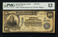 National Bank Notes:Texas, Mount Pleasant, TX - $10 1902 Plain Back Fr. 631 The State National Bank Ch. # (S)6139 PMG Fine 12.. ...