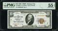Fr. 1860-J* $10 1929 Federal Reserve Bank Star Note. PMG About Uncirculated 55 EPQ