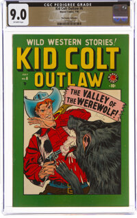 Kid Colt Outlaw #6 The Promise Collection Pedigree (Marvel, 1949) CGC VF/NM 9.0 Off-white pages