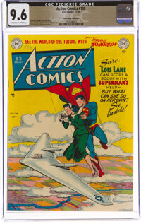 Action Comics #138 The Promise Collection Pedigree (DC, 1949) CGC NM+ 9.6 Off-white to white pages