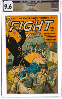 Fight Comics #32 The Promise Collection Pedigree (Fiction House, 1944) CGC NM+ 9.6 Off-white to white pages