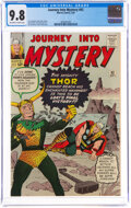 Silver Age (1956-1969):Superhero, Journey Into Mystery #92 (Marvel, 1963) CGC NM/MT 9.8 Off-white to white pages....