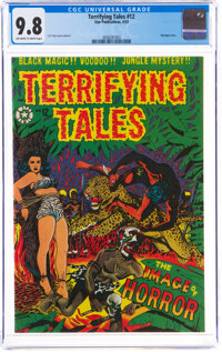 Terrifying Tales #12 (Star Publications, 1953) CGC NM/MT 9.8 Off-white to white pages