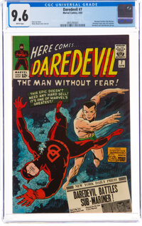 Daredevil #7 (Marvel, 1965) CGC NM+ 9.6 White pages