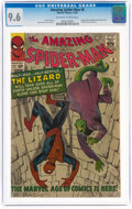 Silver Age (1956-1969):Superhero, The Amazing Spider-Man #6 (Marvel, 1963) CGC NM+ 9.6 Off-white to white pages....