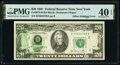 Partial Back to Face Offset Error Fr. 2073-B $20 1981 Federal Reserve Note. PMG Extremely Fine 40 EPQ