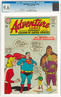 Adventure Comics #330 (DC, 1965) CGC NM+ 9.6 Off-white to white pages