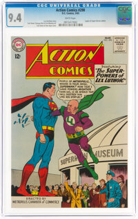 Action Comics #298 (DC, 1963) CGC NM 9.4 White pages