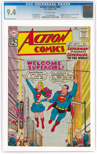 Action Comics #285 (DC, 1962) CGC NM 9.4 Off-white pages