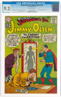 Silver Age (1956-1969):Superhero, Superman's Pal Jimmy Olsen #66 (DC, 1963) CGC NM- 9.2 Off-white pages....