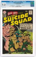 Silver Age (1956-1969):Adventure, The Brave and the Bold #37 Suicide Squad (DC, 1961) CGC VF/NM 9.0 Off-white pages....