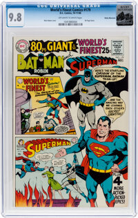 World's Finest Comics #179 Rocky Mountain Pedigree (DC, 1968) CGC NM/MT 9.8 Off-white to white pages