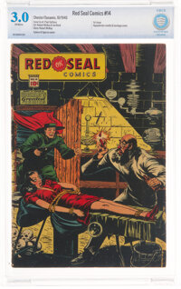 Red Seal Comics #14 (Chesler, 1945) CBCS GD/VG 3.0 Off-white pages