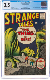 Strange Tales #79 (Marvel, 1960) CGC VG- 3.5 Off-white to white pages
