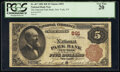 National Bank Notes:New York, New York, NY - $5 1882 Brown Back Fr. 467 The National Park Bank Ch. # 891 PCGS Very Fine 20.. ...