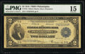 Fr. 755 $2 1918 Federal Reserve Bank Note PMG Choice Fine 15