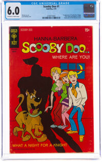 Scooby Doo #1 (Gold Key, 1970) CGC FN 6.0 Off-white to white pages