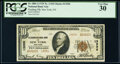 National Bank Notes:New York, New York, NY - $10 1929 Ty. 2 Flushing National Bank Ch. # 13296 PCGS Very Fine 30.. ...