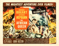 Movie Posters:Adventure, The African Queen (United Artists, 1952). Very Fine on Pap...