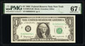 Small Size:Federal Reserve Notes, Fr. 1900-B $1 1963 Federal Reserve Note. PMG Superb Gem Unc 67 EPQ.. ...