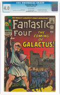 Silver Age (1956-1969):Superhero, Fantastic Four #48 (Marvel, 1966) CGC VG 4.0 Off-white pages....