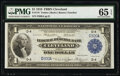 Low Serial Number D300A Fr. 718 $1 1918 Federal Reserve Bank Note PMG Gem Uncirculated 65 EPQ