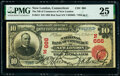 New London, CT - $10 1902 Red Seal Fr. 613 The National Bank of Commerce of New London Ch. # (N)666 PMG