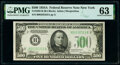Small Size:Federal Reserve Notes, Fr. 2202-B $500 1934A Federal Reserve Note. PMG Choice Uncirculated 63.. ...