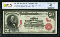 Saint Clairsville, OH - $20 1902 Red Seal Fr. 639 The First National Bank Ch. # (M)315 PCGS Extremely Fine 40