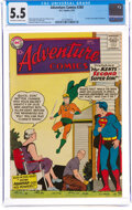 Silver Age (1956-1969):Superhero, Adventure Comics #260 (DC, 1959) CGC FN- 5.5 Off-white to white pages....
