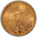 1909-S $20 MS64 PCGS. CAC. PCGS Population: (2017/406 and 121/17+). NGC Census: (1326/224 and 16/6+). CDN: $1,985 Whsle...