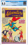 Silver Age (1956-1969):Superhero, Adventure Comics #293 (DC, 1962) CGC VF+ 8.5 Off-white to white pages....