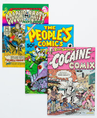 Underground Comix Group of 41 (Various Publishers, 1960s-70s) Condition: Average VG.... (Total: 41)