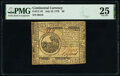 Colonial Notes:Continental Congress Issues, Continental Currency July 22, 1776 $6 PMG Very Fine 25.. ...