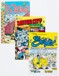 Silver Age (1956-1969):Alternative/Underground, Underground Comix Group of 67 (Various Publishers, 1960s-70s) Condition: Average VF.... (Total: 67 Comic Books)