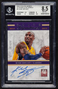 Basketball Cards:Singles (1980-Now), 2012-13 Elite Signatures Kobe Bryant Autograph #1 BGS NM-MT+ 8.5, Auto 10 - Serial Numbered 182/199....