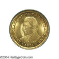 Commemorative Gold: , 1904 G$1 Lewis and Clark MS64 PCGS. The orange-gold ...