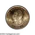 Commemorative Gold: , 1904 G$1 Lewis and Clark MS65 PCGS. Bright mint luster ...