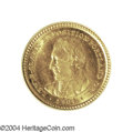 Commemorative Gold: , 1904 G$1 Lewis and Clark MS65 PCGS. While not quite as ...