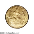 Commemorative Gold: , 1915-S $2 1/2 Panama-Pacific Quarter Eagle MS66 PCGS. The ...