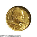 Commemorative Gold: , 1922 G$1 Grant no Star MS66 NGC. The satiny yellow-gold ...