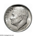 Proof Roosevelt Dimes: , 1951 10C PR68 Cameo PCGS. This untoned and beautifully ...