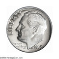 Proof Roosevelt Dimes: , 1963 10C PR69 Deep Cameo PCGS. The silver surfaces shine ...