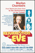 """Movie Posters:Adult, Resurrection of Eve (Mitchell Brothers Film Group, 1973). Folded, Very Fine-. Poster (25"""" X 36""""). Adult.. ..."""