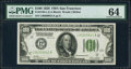 Small Size:Federal Reserve Notes, Fr. 2150-L $100 1928 Federal Reserve Note. PMG Choice Uncirculated 64.. ...