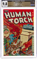 Golden Age (1938-1955):Superhero, The Human Torch #22 The Promise Collection Pedigree (Timely, 1946) CGC NM/MT 9.8 White pages....