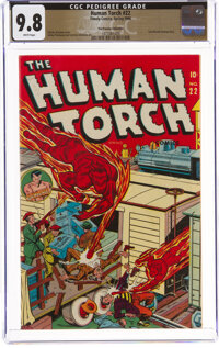 The Human Torch #22 The Promise Collection Pedigree (Timely, 1946) CGC NM/MT 9.8 White pages