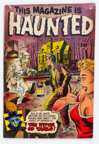 This Magazine Is Haunted #9 (Fawcett Publications, 1953) Condition: VG