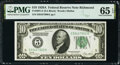 Small Size:Federal Reserve Notes, Fr. 2001-E $10 1928A Federal Reserve Note. PMG Gem Uncirculated 65 EPQ.. ...